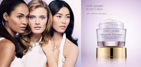 Sunset, Sunlight and Sunrise Colortimes Via Estee Lauder ad.
