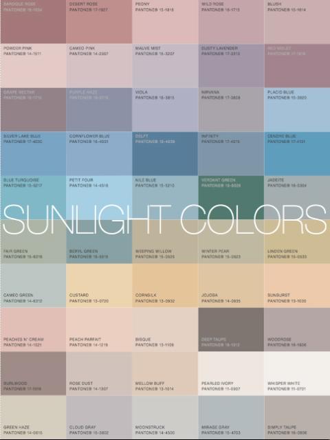 sunlight color