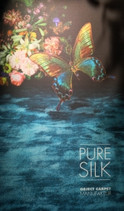 Butterfly pure silk