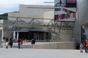 Bilbao Guggenheim Shaddows
