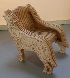 Wolf chair